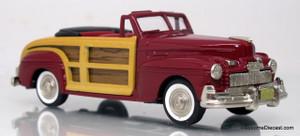 Brooklin Models 1:43 1946 Mercury Sportsman Woody Convertible