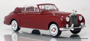 Minichamps 1:43 1960 Rolls Royce Silver Cloud II Cabriolet Red