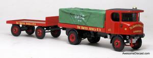 Corgi 1:50 Sentinel Platform Wagon w/ Trailer - United Africa