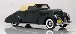 Durham Classics 1:43 1938 Lincoln Zephyr