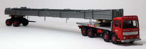 ONLY ONE - Corgi 1:50 AEC Ergo 8 Wheel Lorry Dolly & Girder Load - BRS
