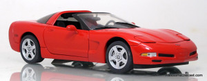 Franklin Mint 1:24 1997 Chevrolet Corvette Coupe