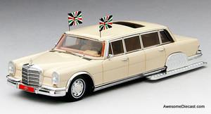 TSM 1:43 1975 Mercedes-Benz 600 Pullman: King Hussein of Jordan