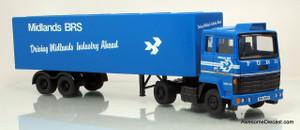 Corgi 1:50 Ford Transcontinental w/ Box Trailer - British Road Services