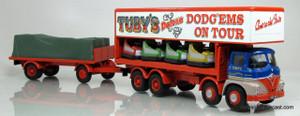 Corgi 1:50 Foden S21 8 Wheel Dodgen Truck w/ Trailer - Tuby's
