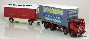 Corgi 1:50 Foden FG Truck & Caravan - Mickey Kiely Boxing