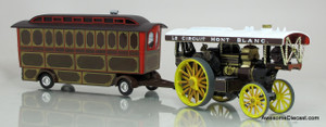 Corgi 1:50 Fowler B6 Showmans Steam Locomotive - Le Mont Blanc & Caravan