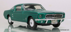Matchbox Dinky 1:43 1967 Ford Mustang Fast Back: Green