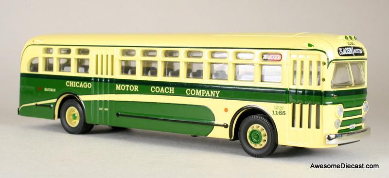 Corgi 1 50 General Motors Bus 4505 Chicago Motor Coach Company