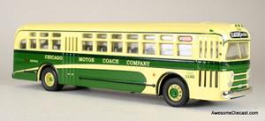 Only One: Corgi Classics 1:50 General Motors 4505 Motorcoach: Chicago Motor Coach Company