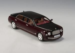 GLM 1:43 2012 Bentley Duchatelet Mulsanne Armotech Limousine: Bordeaux / Black