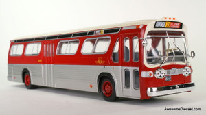 IXO 1:43 GMC Fishbowl TDH-5301 Transit Bus: TTC / Toronto Transit Commission