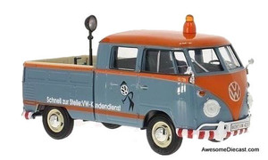 Motormax 1:24 VW T1 Pick Up Customer Service w/ Load