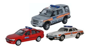 Oxford Diecast 1:76 Metropolitan Police Set
