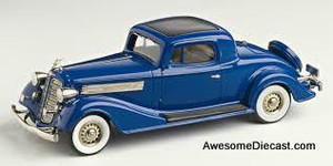 "ONLY ONE - Brooklin Collection 1:43 1934 Buick 96-S Coupe ""Royale Blue"""