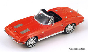 ONLY ONE - Spark 1:43 1963 Chevrolet Corvette C2 Sting Ray Convertible S2969