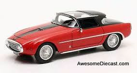 Matrix 1:43 1954 Fiat 8V Vignale Demon Rouge: Louwman Museum Collection
