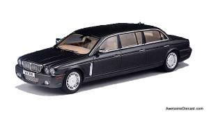 GLM 1:43 2009 Jaguar Daimer XJ X358 Limousine: Wilcox - Grey Metallic