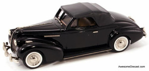 ONLY ONE - Brooklin Models 1:43 1939 Buick Century Coupe M-66C