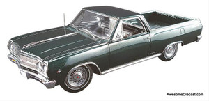 ACME 1:18 1965 Chevrolet El Camino Cypress Green