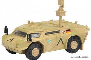 Schuco 1:87 Fennek Scouting Vehicle: International Security Assistance Force
