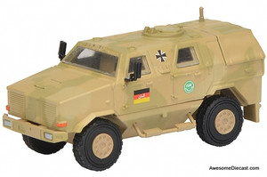 Schuco 1:87 Dingo I All Protection Vehicle: International Security Assistance Force