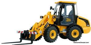 Joal 1:35 JCB 406 Wheeled Loading Shovel W/ Forks