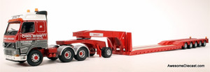 ONLY ONE - Corgi 1:50 Volvo, Jeep Dolly & King Trailer: Chris Bennett (Heavy Haulage)