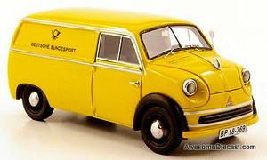 ONLY ONE - Neo 1:43 Lloyd LT600 Van: Deutsche Bundespost
