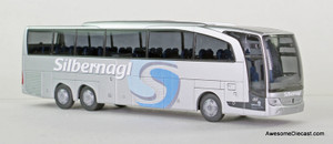 Rietze 1:87 Mercedes-Benz Travego M Euro 6 - Silbernagl -RARE!