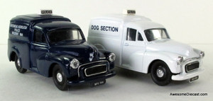 ONLY ONE - Corgi 1:50 Morris Minor Van Set