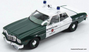 "Kess 1:43 1976 Ford Torino ""MDC Boston Police"""