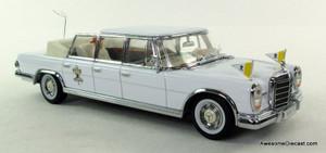 Vitesse 1:43 1965 Mercedes 600 Pope Paulo VI Limousine
