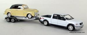 MotorMax American Classics 1:43 1950 Chevrolet Bel Air & FX4 Off Road Pick-Up