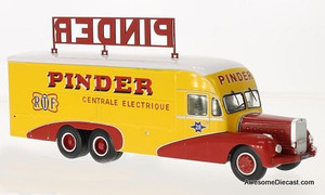 Direkt Collections 1:43 Bernard 1951 28 electric service truck: Pinder Circus