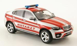 Schuco 1:43 2010 BMW X6 - Emergency Doctor