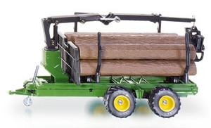 Siku 1:32 Forestry Trailer, Crane and Logs