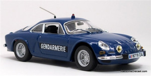 Minichamps 1:43 1971 Renault Alpine A110: Gendarmerie