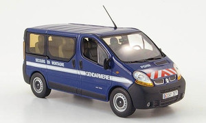 Norev 1:43 2004 Renault Traffic: French Nat'l Police / Rescue