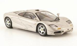 Minichamps 1:43 1993 McLaren F1 Street Car: Silver/Blue