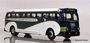 Corgi 1:50 Eastern Michigan Yellow Coach 743