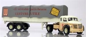 Corgi 1:50 Berliet TLR w/ Canvas-Sided Trailer: LU Butter