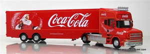 Oxford Diecast 1:76 Scania T w/ Trailer: Coca Cola Christmas Truck