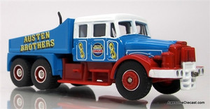 Trackside 1:76 Scammell Ballast Tractor: Austen Brothers
