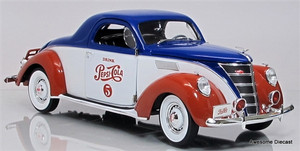 Auto World 1:18 1937 Lincoln Zephyr Coupe: Pepsi