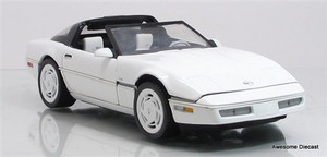 Franklin Mint 1:24 1988 Corvette (White)