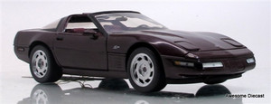 Franklin Mint 1:24 1993 Corvette ZR-1 (Maroon)