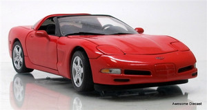 Franklin Mint 1:24 1997 Corvette