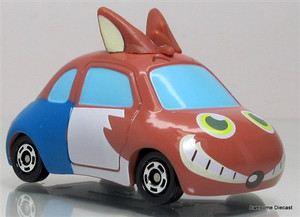 Tomica 1:64 Hamsterland Foxman Car: China Edition