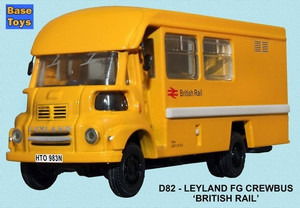 Base Toys 1:76 Leyland FG Crewbus: British Rail
